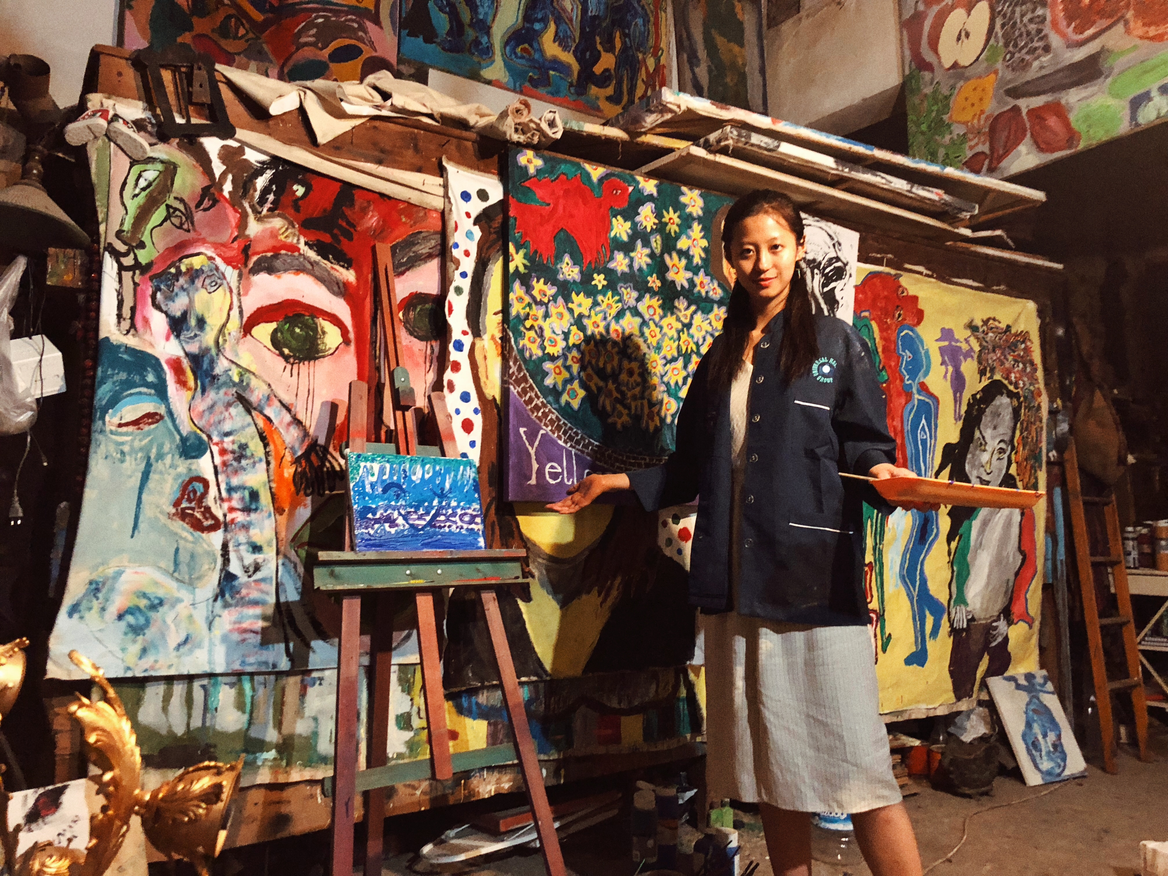 Art studio in Istanbul