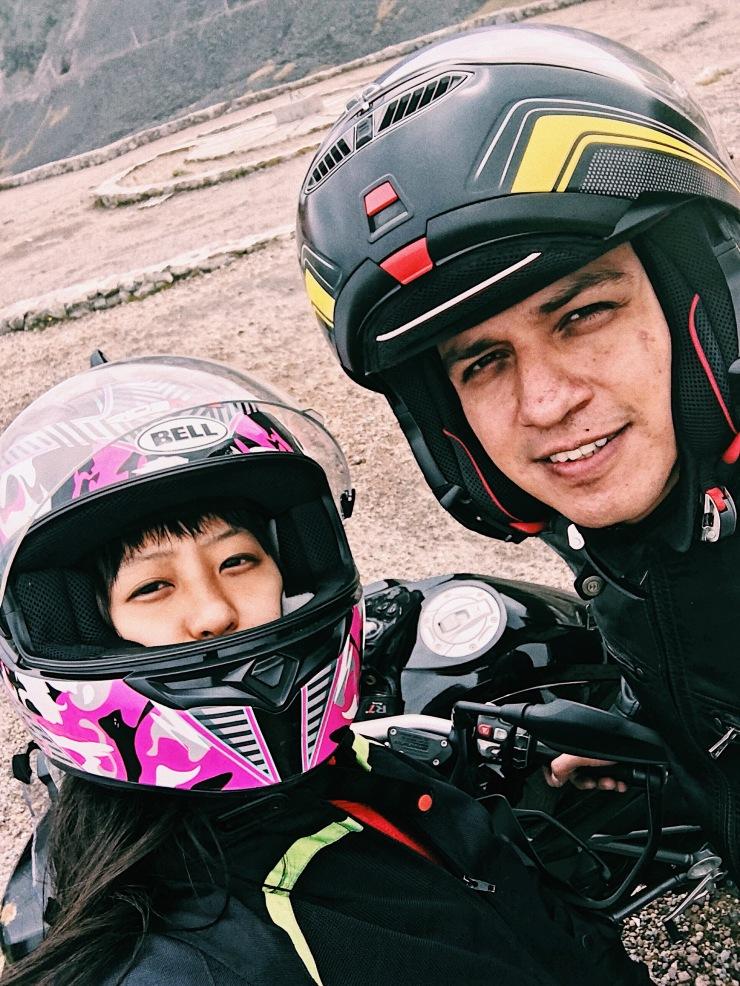 motorbiking trip in Mexico